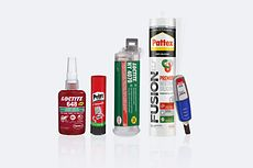 Selection of adhesive products