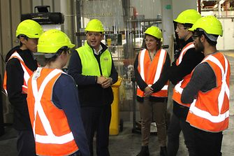 Engineering students get a glimpse of working at Henkel ANZ.